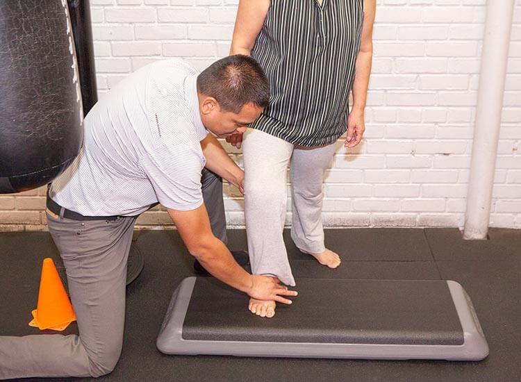 MMA ankle pain rehab 2