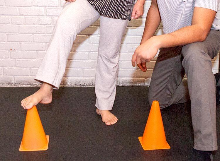 MMA balance rehab 1