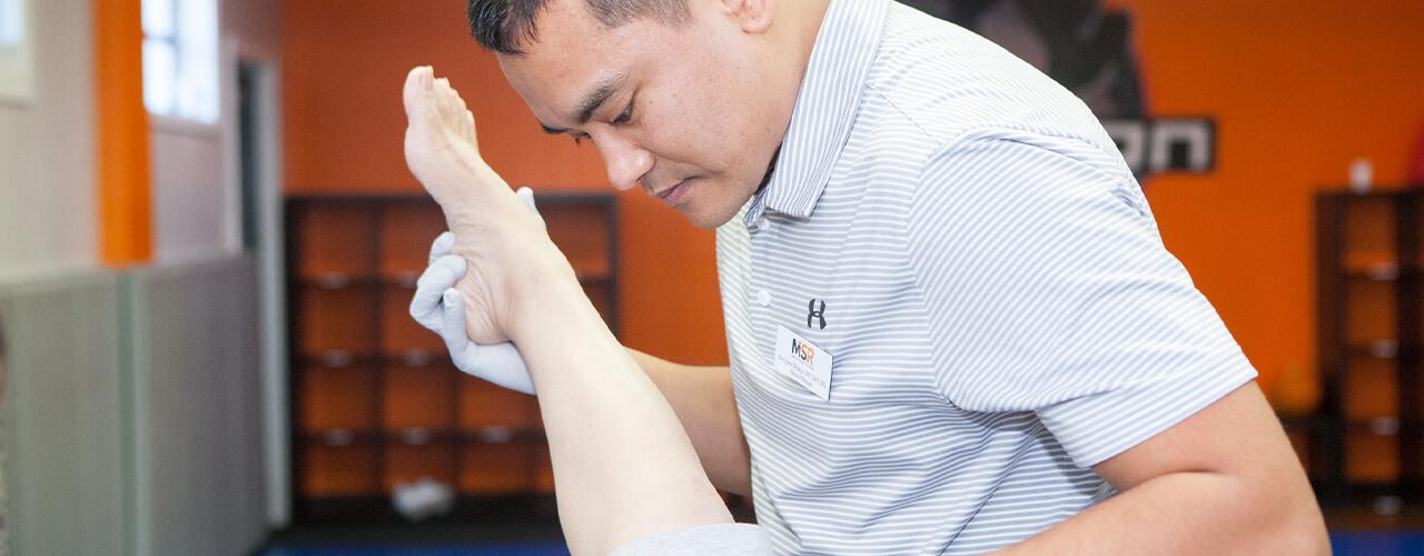 Ankle Rehab/Reconstructive Surgery Arlington, VA